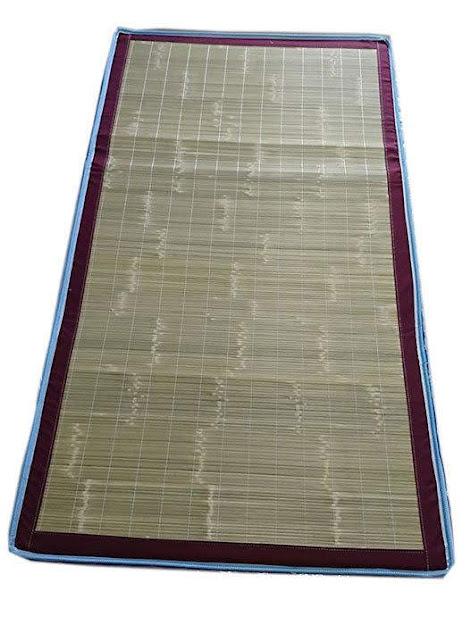 ※自運價※Q-753-07 竹蓆印花床墊(顏色隨機) 3尺/3.5尺/5尺/6尺