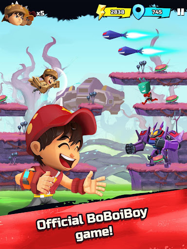 BoBoiBoy Galaxy Run: Fight Aliens to Defend Earth! 1.0.5d screenshots 13