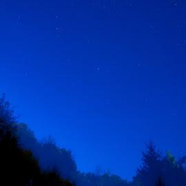 blue by Dušan Gajšek - Landscapes Starscapes