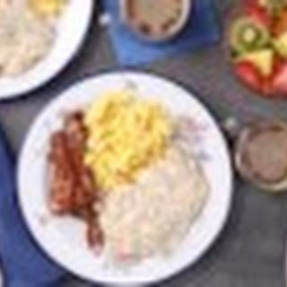 Sausage Biscuits and Gravy.