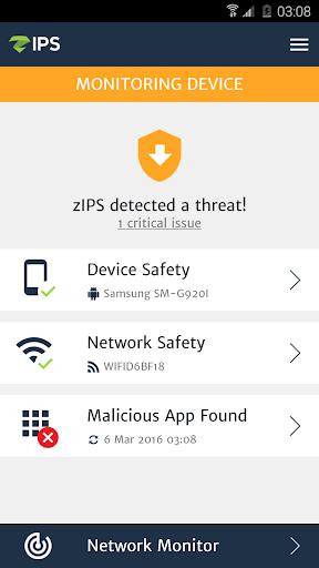 ZIMPERIUM Mobile IPS (zIPS)  screenshots 2
