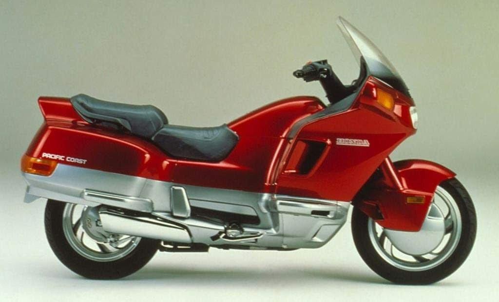 Honda PC 800 Pacific Coast-manual-taller-despiece-mecanica