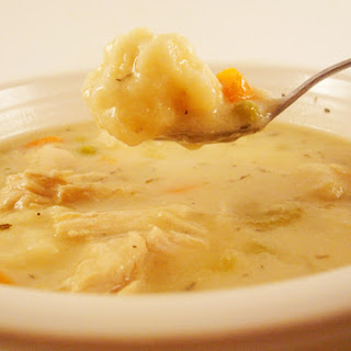 Chicken and Vegetable Dumpling Soup