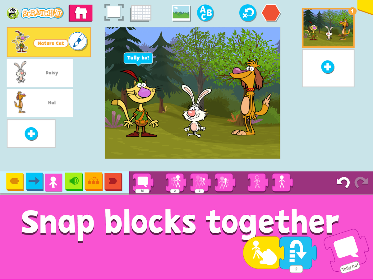 PBS KIDS ScratchJr- screenshot