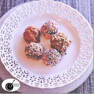 Holiday Bourbon Truffles Recipe