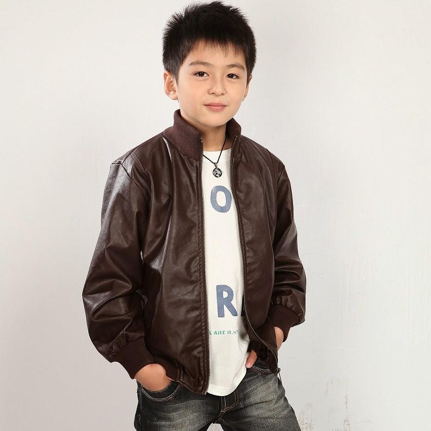 jaket kulit anak sd