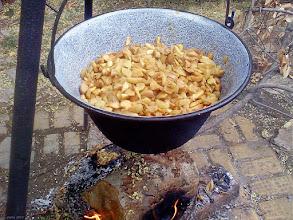 Photo: Smażenie dżemu z jabłek w bograczu 06