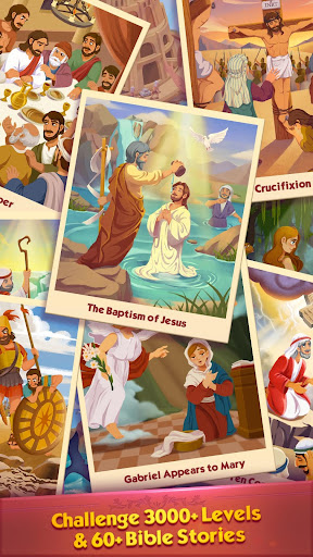 Bible Word Puzzle - Free Bible Story Game painmod.com screenshots 6