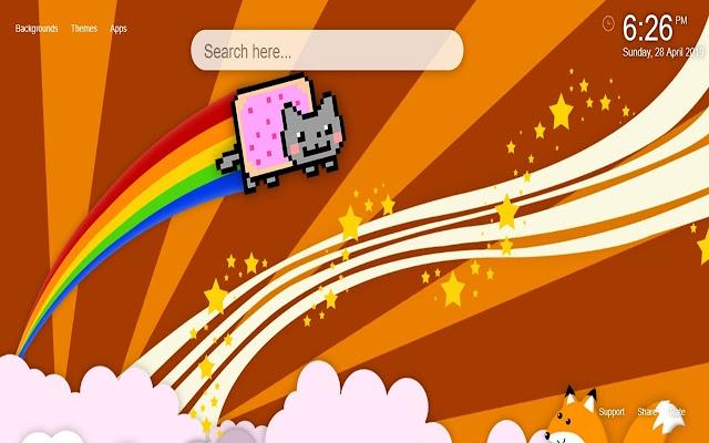 Nyan Cat HD Wallpapers New Tab