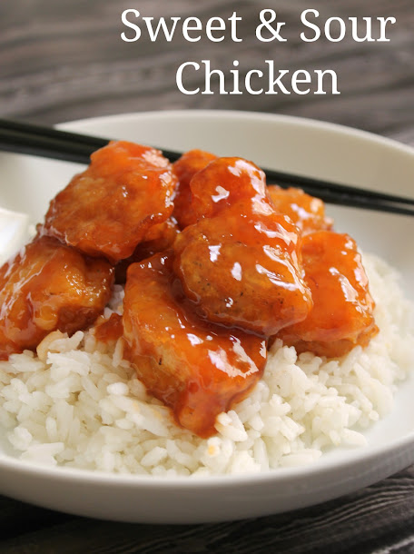 National Eat What You Want Day: Homemade Sweet & Sour Chicken Recipe