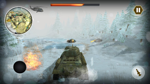 Epic Tank World War Fury - Real Army Panzer Battle  captures d'écran 2