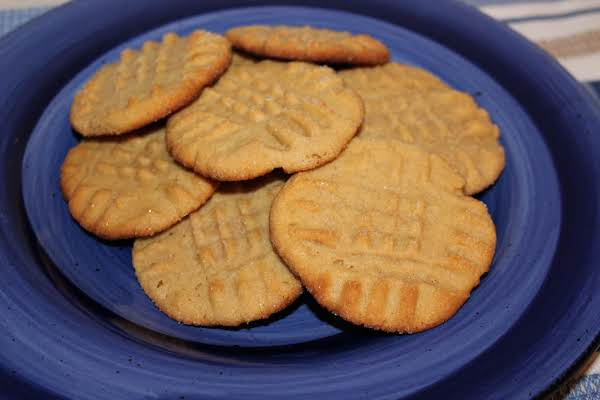 Ice Box Peanut Butter Shortbread Cookies Recipe