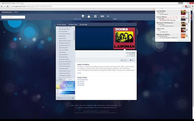 Pandora History Saver