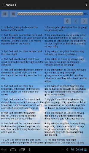 Cebuano King James Bible screenshot 5