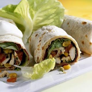 Tex-Mex Chicken Wraps Recipe