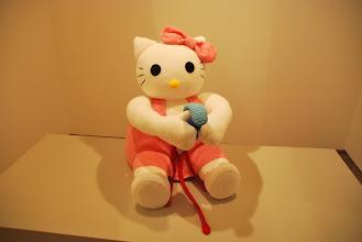 "Photo: Deschler Galerie: Patricia Waller Broken Heroes ""Hallo Kitty"""