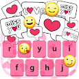 Love SMS Keyboard Themes icon