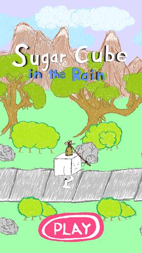 Sugar Cube in the Rain