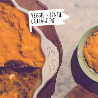 Veggie And Lentil Cottage Pie