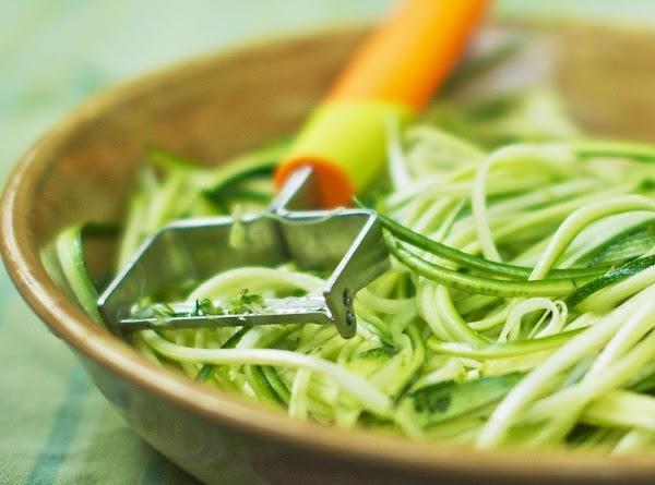 Zoodles (zucchini Noodles) Recipe