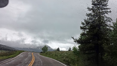 Photo: On the road East of Glacier now, to two-medicine Lake
