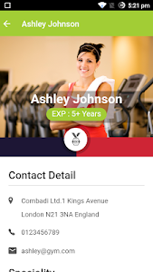 Gym App screenshot 4