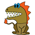 Burt's Dinosaurs Coloring Book icon