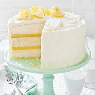 Luscious Lemon Cake.