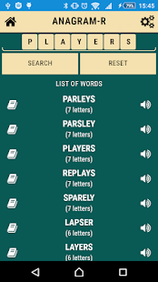 Anagrams free- screenshot thumbnail