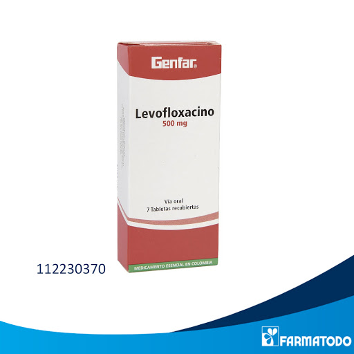 levofloxacina levofloxacino 750mg 5blister dolly farma