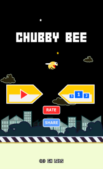 Chubby Bee- screenshot