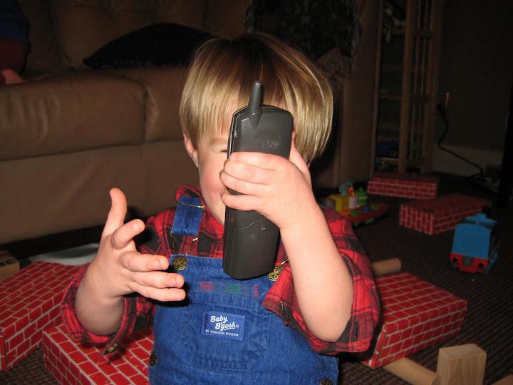 Elliott talking to Uncle Ben