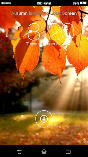 Autumn leaves Yo Locker HD