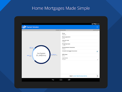 Zillow Mortgage Calculator- screenshot thumbnail