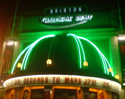 30 seconds to mars brixton academy perfecting loneliness for Balcony unreserved