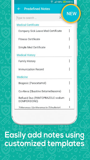 Doctor At Work (Plus) - Patient Medical Records 1.37.0 screenshots 7