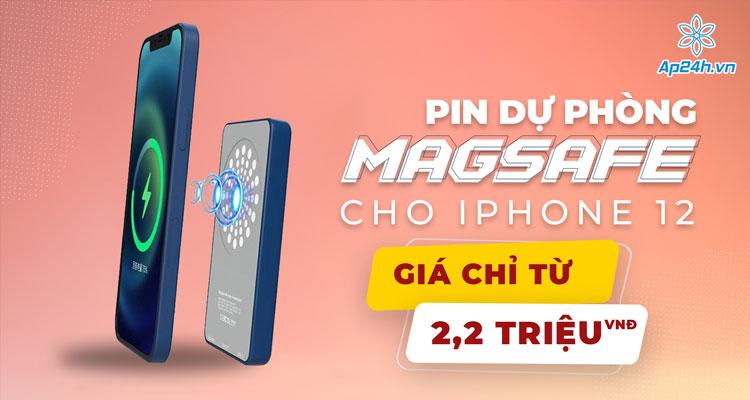 MagSafe Battery Pack tương thích với tất cả dòng iPhone 12