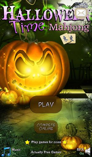 Hidden Mahjong: Halloween Time