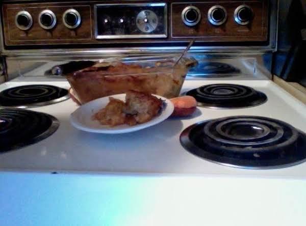 Not Originally Intended That Way Peach Crisp Recipe