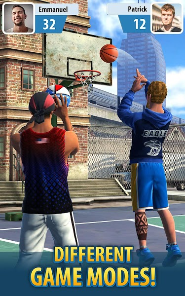 Basketball Stars Screenshot Image