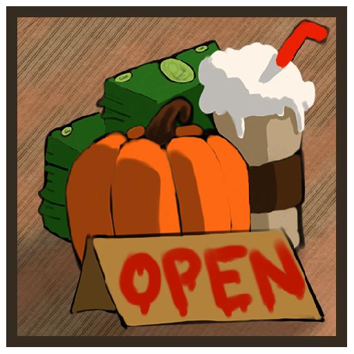 Pumpkin Spice Latte Stand