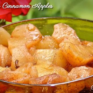 Simply Cinnamon Apples.