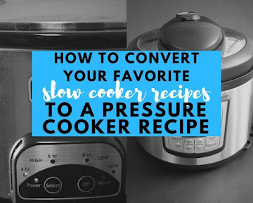 How To Convert Your Favorite Slow Cooker Recipes To A Pressure Cooker Recipe