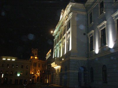 Черновцы - ночной город