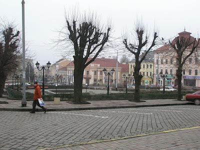 Черновцы - центральная площадь