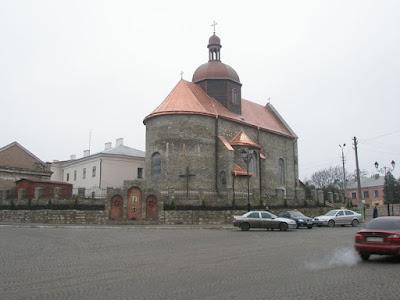 Камянец-Подольский - церковь