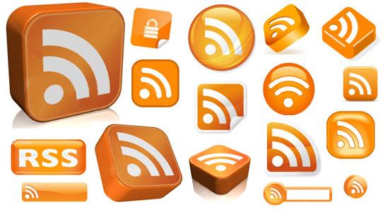 46 лучших RSS иконок