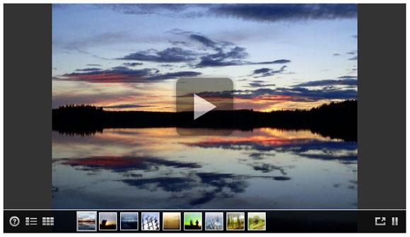 Jimdo - модуль Flash галереи для сайта
