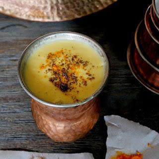 Mango Cardamom Kefir Lassi