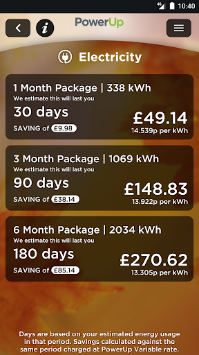 PowerUp BETA - ScottishPower app (apk) free download for Android/PC/Windows screenshot